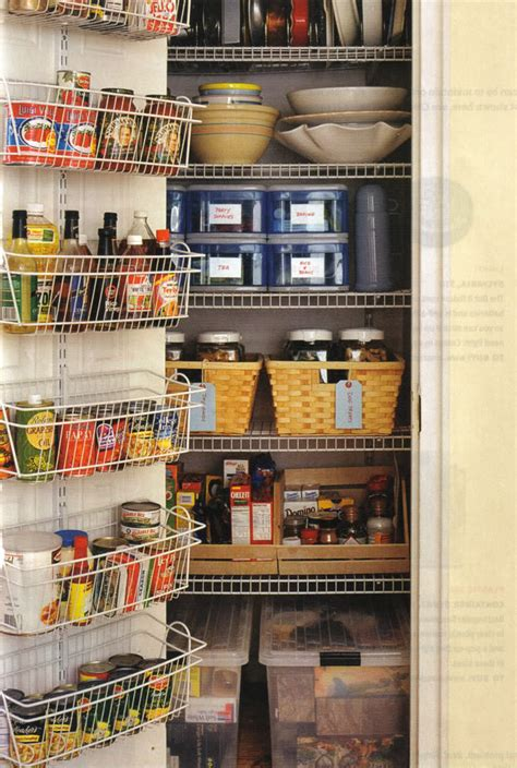 Organizing Small Pantry by Organized Kitchen Pantry All Things G D
