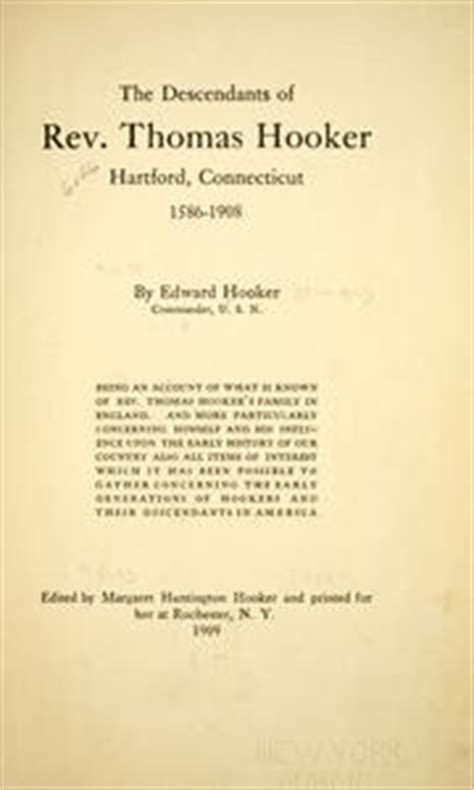 the descendants of rev hartford connecticut 1586 1908 classic reprint books the descendants of rev hartford