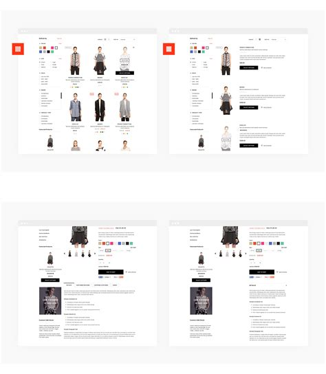 Shopify Themes With Tabs | brooklynk responsive fashion shopify template sections