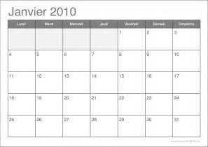 Calendrier A Imprimer Gratuit Calendrier 2010 192 Imprimer Par Mois