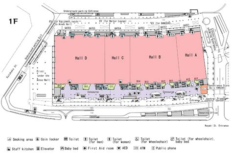 exhibition layout pdf pacifico yokohama planners download