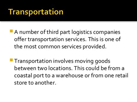 what does a logistics company do freight brokerage services