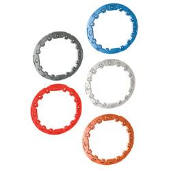 Crush Gear Bandai Spare Part Ring Blue forged billet rings from polaris sportsman parts accessories apparel