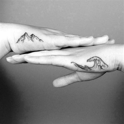 side of hand tattoo designs 70 simple tattoos for cool ink design ideas