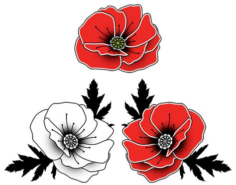 poppy tattoo drawing www pixshark com images galleries