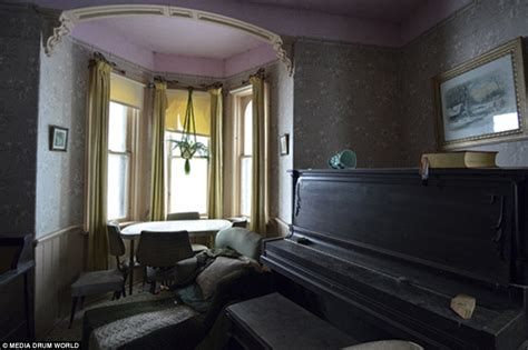 Where To Start Wallpapering In A Room by Explorer In Canada Discovers Home Abandoned 50 Years
