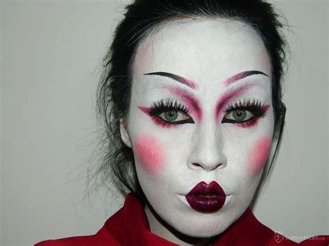 tutorial makeup halloween 2015 geisha fashion makeup www pixshark com images