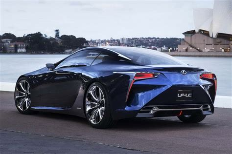 lexus blue lexus lf lc concept in blue color for 2012