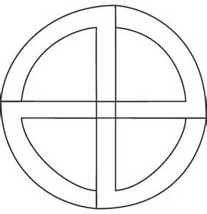 Medicine Wheel Template by Dakota Studies
