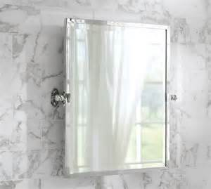 pottery barn mirrors bathroom covington pivot mirror pottery barn sl house pinterest
