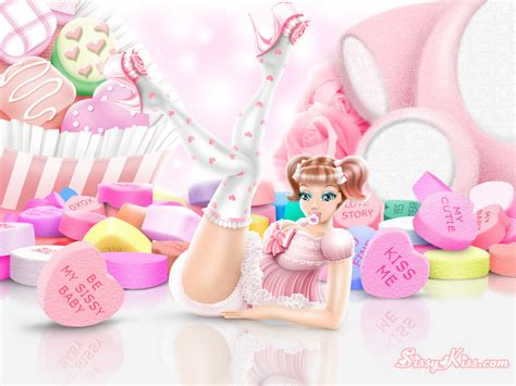 how to diaper train yourself sissy kiss feminization a valentines sissy kiss by christieluv on deviantart