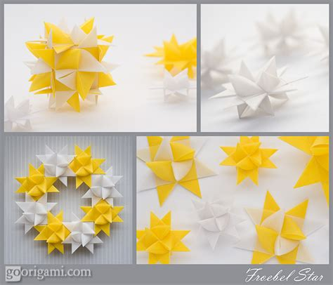 Origami Moravian - froebel as decoration go origami