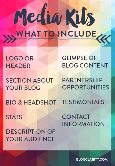 blogger needed blogger media kits 101 what s a media kit why you need