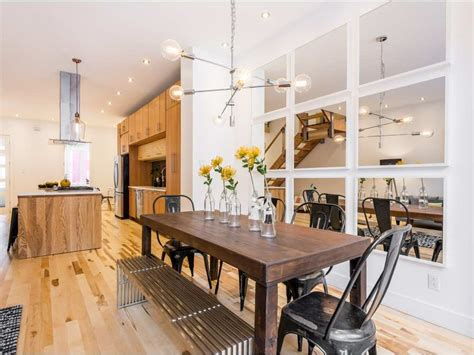 Open Concept Floor Plateau Row House Restyled Asking Price 1 245 Million Montreal Gazette