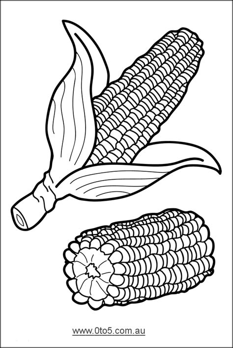 printable vegetable template corn template vegetable template printable fall autumn