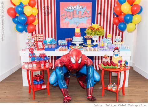 garrafas decoradas homem aranha festa homem aranha e princesas da julia festa real