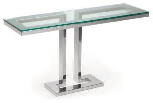furniture furniture unique modern glass console table