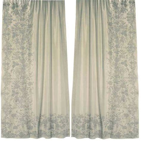 ivory silk drapes faupel readymade curtains