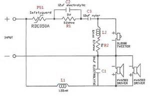 audio crossover wiring diagram crossover free printable wiring diagrams