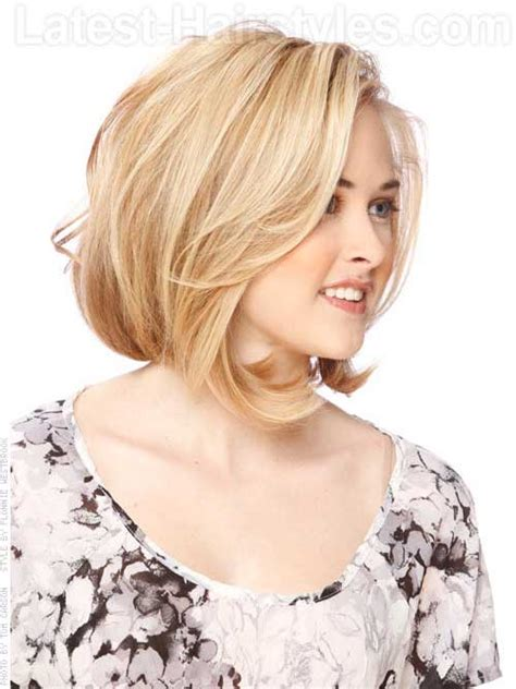 best bob for thinning hair round faces bob styles for round faces short hairstyles 2017 2018