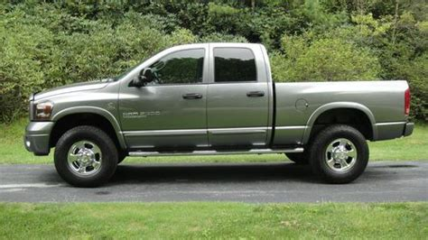 how to learn about cars 2006 dodge ram 2500 parental controls sell used 2006 dodge ram 2500 sport quad cab pickup 4 door 5 9l diesel 4x4 6 speed manual in