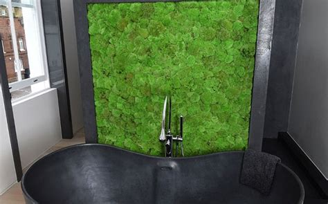 Moss In Bathroom by The 163 14m Chelsea House With A Fish Tank Wall