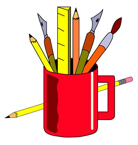 free clipart office free office stationery clipart 21