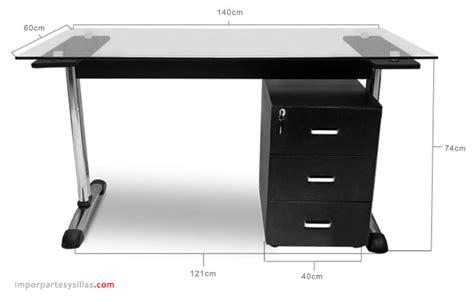 escritorio vidrio escritorio de oficina en vidrio vulcano