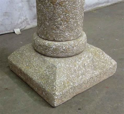 Podium Granit granite podium with center for planter olde things