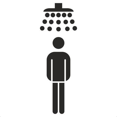 sticker dames heren toilet heren douche stickers voor binnen en buiten