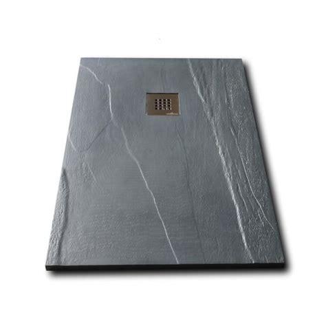 piatto doccia alto piatto doccia in pietra solidstone alto 2 8 cm ardesia
