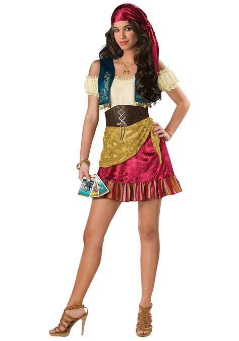 halloween costumes for teen girls teen glamor gypsy costume