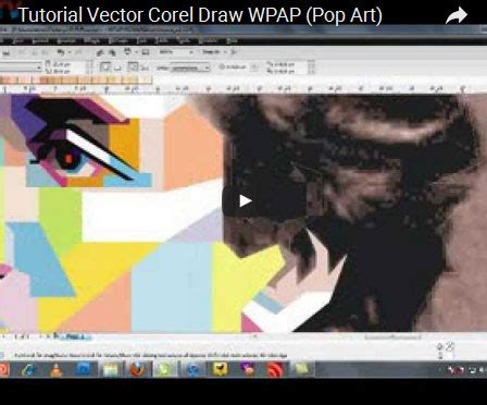 tutorial vector corel x3 kumpulan video tutorial vector corel draw sang vectoria