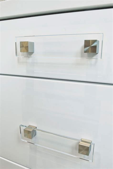 Kitchen Craft Hardware Glass Cube Cabinet Pull Kitchen Craft Cabinetry