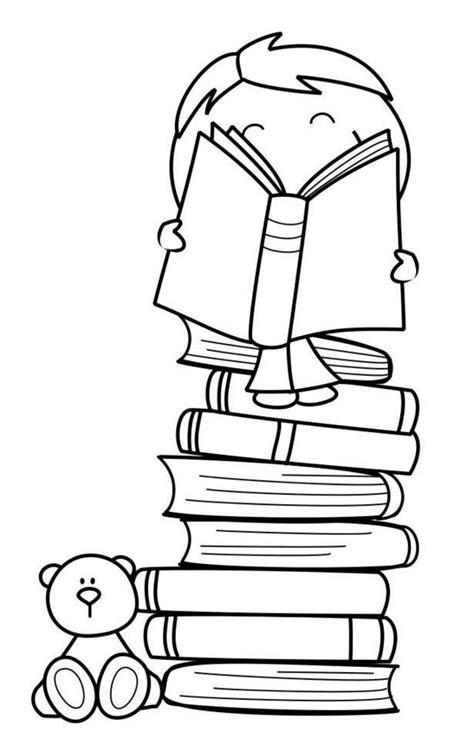 dibujo de libros y manzana para colorear dibujos net coloriages d objets livre