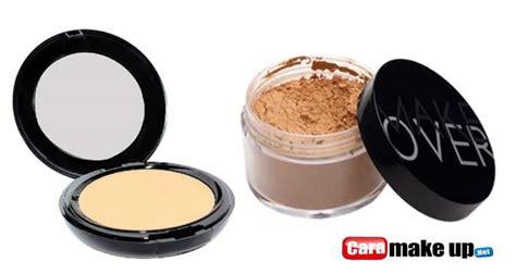 Harga Bedak Tabur Merk Makeover bedak padat tabur make untuk kulit berminyak