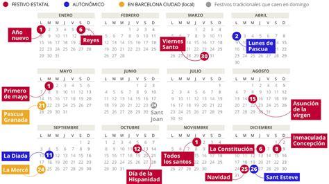Calendario 2018 Con Festivos Calendario Laboral 2018 En Catalunya Avmlexfincas