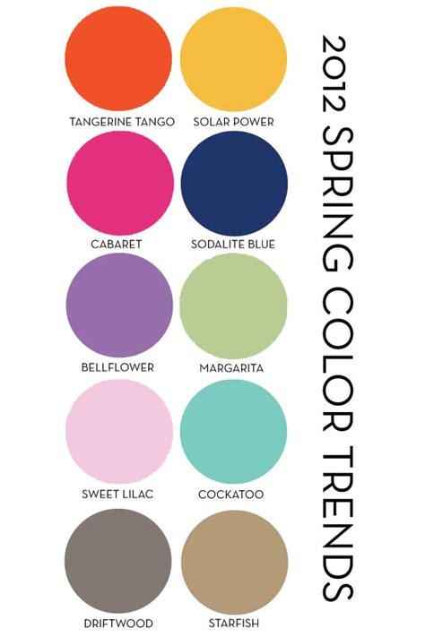 trending color palettes artfully ornamental pantone spring 2012 bead swap