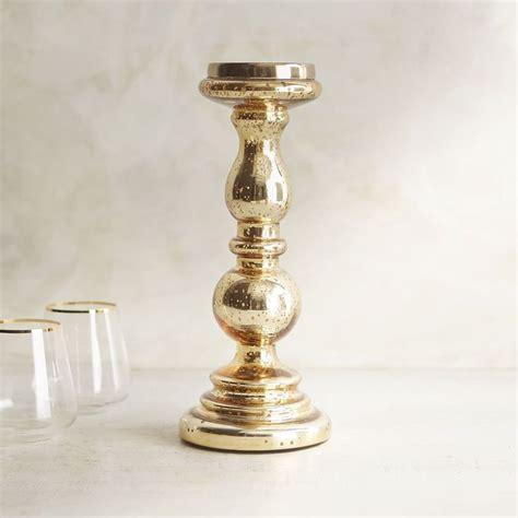 3115640 220 mercury glass pillar stand gold xn15 gld mrcry