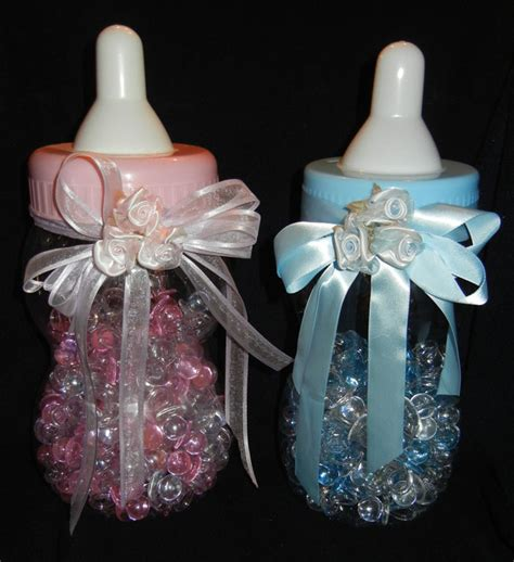 baby shower cake toppers wire baby carriages wire - Baby Bottle Centerpieces Baby Shower