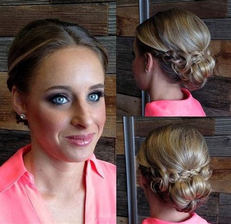 15 unique updos for thin hair