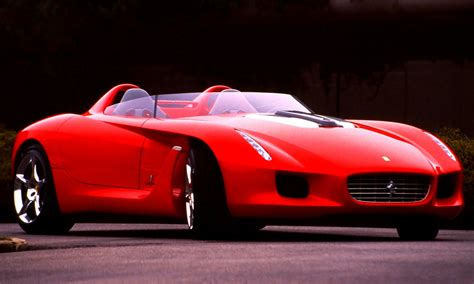 future corvette concept flashback 2000 ferrari rossa concept speedster