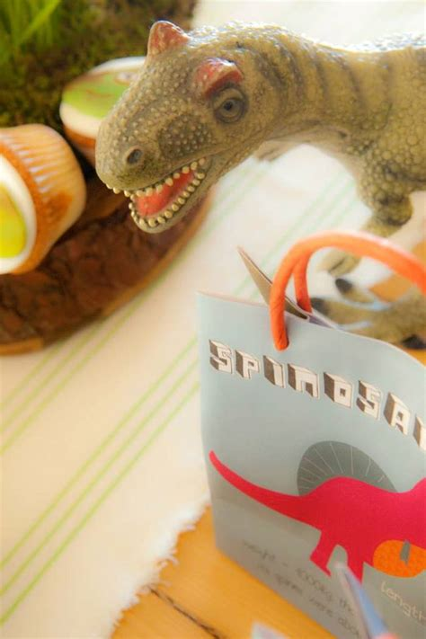 karas party ideas dinosaur themed birthday party