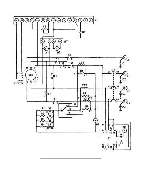 diagram generator ac electrical wiring diagrams generator fuse box and