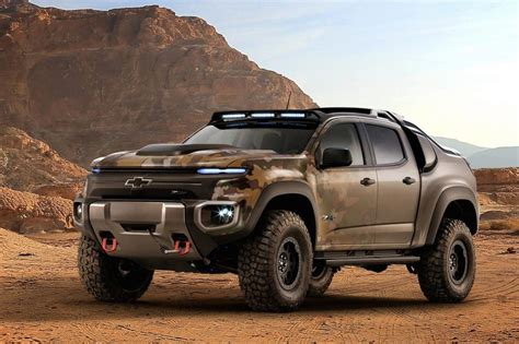 chevy colorado chevrolet creates colorado zh2 fuel cell prototype for us