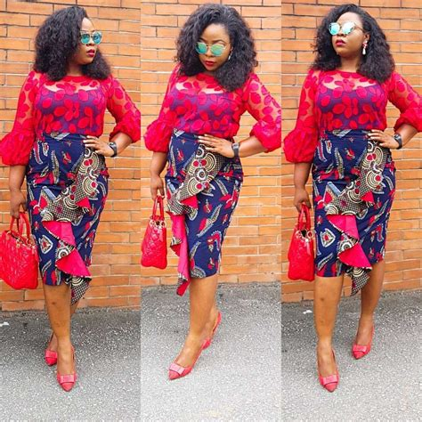 pictures  simple short gown ankara styles