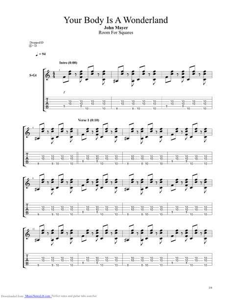 waiting room bass tabs your is a guitar pro tab by mayer musicnoteslib