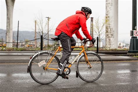 bicycle rain jacket biking in the rain gear tips and gentle encouragement