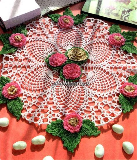 20 patrones de carpetas tejidas coleccion de los viernes 20 patrones de carpetas tejidas colecci 243 n de los viernes