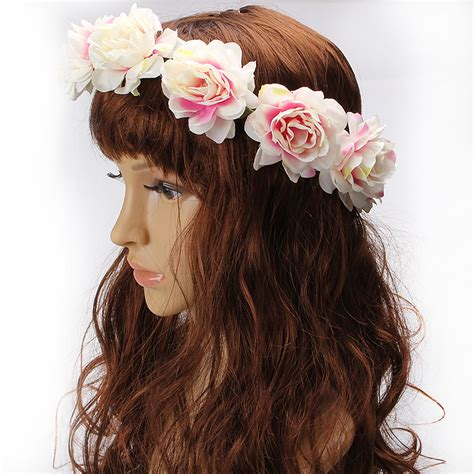 6 Beautiful Floral Headbands For And Summer by M Mism Summer Style Flower Headband Garland